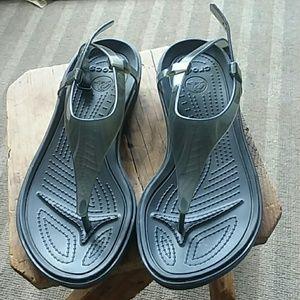 Croc sandals great condition!!!